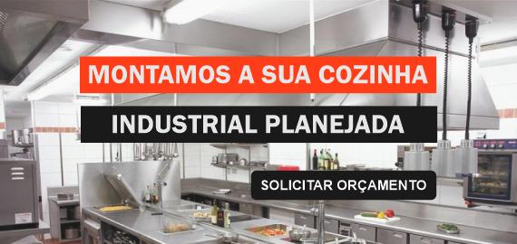 Projetamos e montamos Cozinhas Industriais, realize o seu sonho, solicite orçamento.